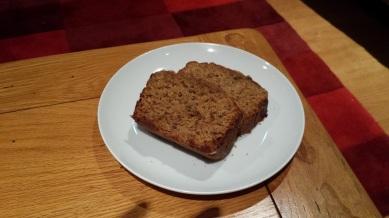 Sticky ginger loaf
