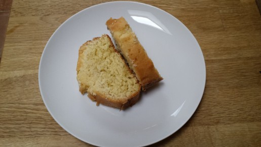 very lemony lemon drizzle