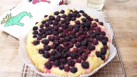 Blackberry, lime and elderflower whole