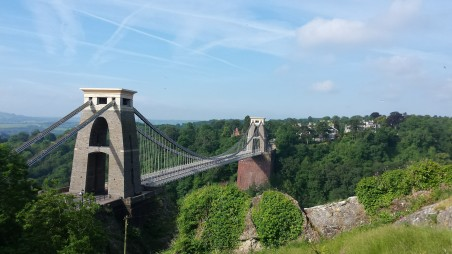 Bristol Susp Bridge day