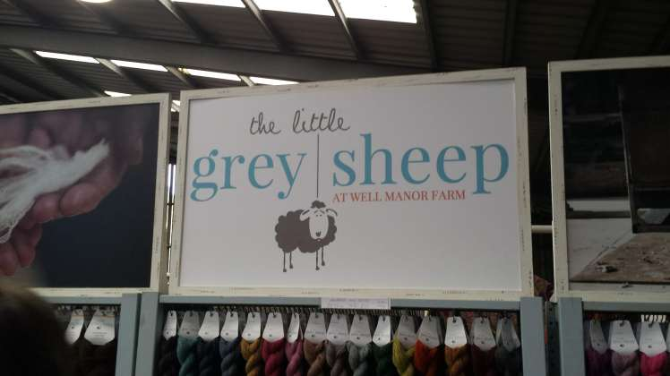 Yarndale Little Grey Sheep