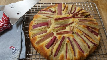 rhubarb and almond gluten free